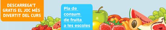 A l'escola la fruita entra sola